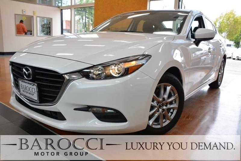 2017 Mazda Mazda3 Sport 4dr Sedan 6A 6 Speed Auto White Now for sale is a superb one owner 2017