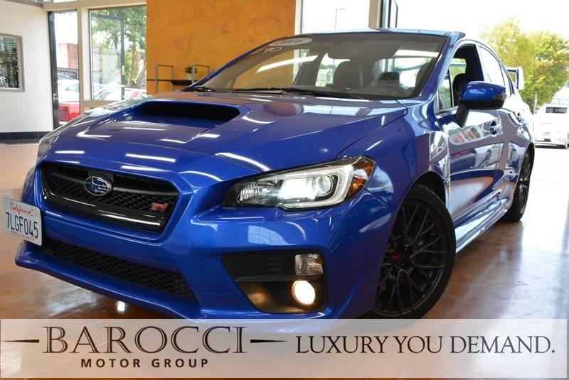 2016 Subaru WRX STI AWD  4dr Sedan 6 Speed Man Blue Now for sale is an outstanding one owner 20