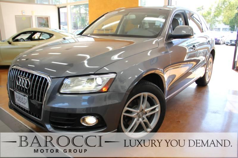 2013 Audi Q5 20T quattro Premium PLUS AWD  4dr 8 Speed Auto Gray Beige Now for sale is an exce