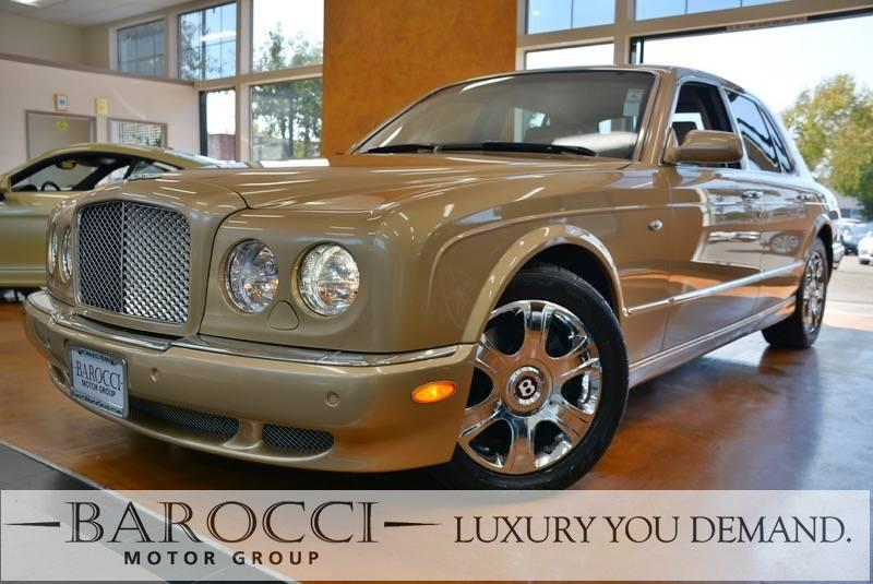 2005 Bentley Arnage R 4dr  Turbo Sedan 4 Speed Auto Gold Beige We are proud to offer an outstan