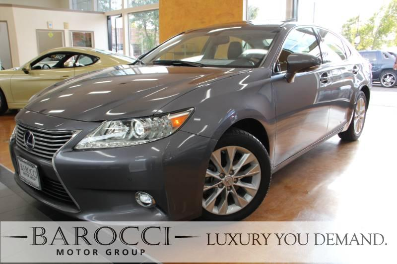 2015 Lexus ES 300h 4dr Sedan Automatic CVT Gray We are excited to offer a striking one owner 20