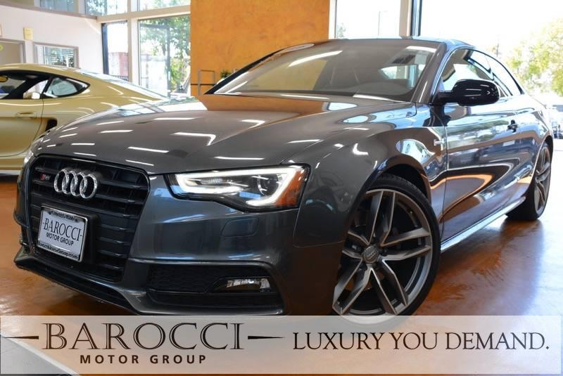2016 Audi S5 30T quattro Premium plus awd 7 Speed Auto Gray We are proud to offer an excellent