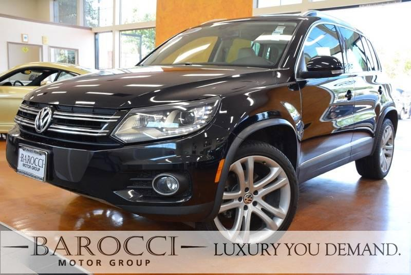 2016 Volkswagen Tiguan 20T SEL 4dr SUV 6 Speed Auto Black This is a delightful one owner 2016 V
