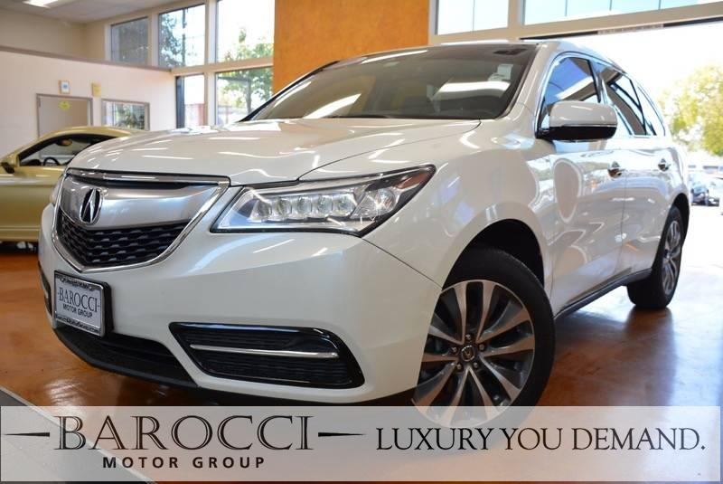 2016 Acura MDX wTech 4dr SUV nology Package 9 Speed Auto White Now offering an exquisite one ow