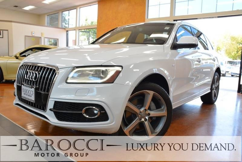 2013 Audi Q5 30T quattro Prestig AWD  4dr SUV 8 Speed Auto White Up for sale is a clean one own