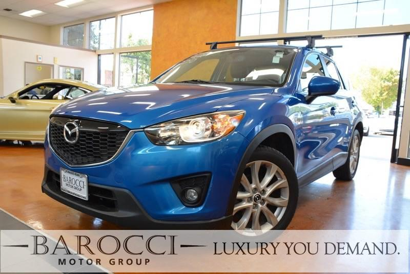 2013 Mazda CX-5 Grand Touring AWD  4dr SUV 6 Speed Auto Blue We are excited to offer a beautiful