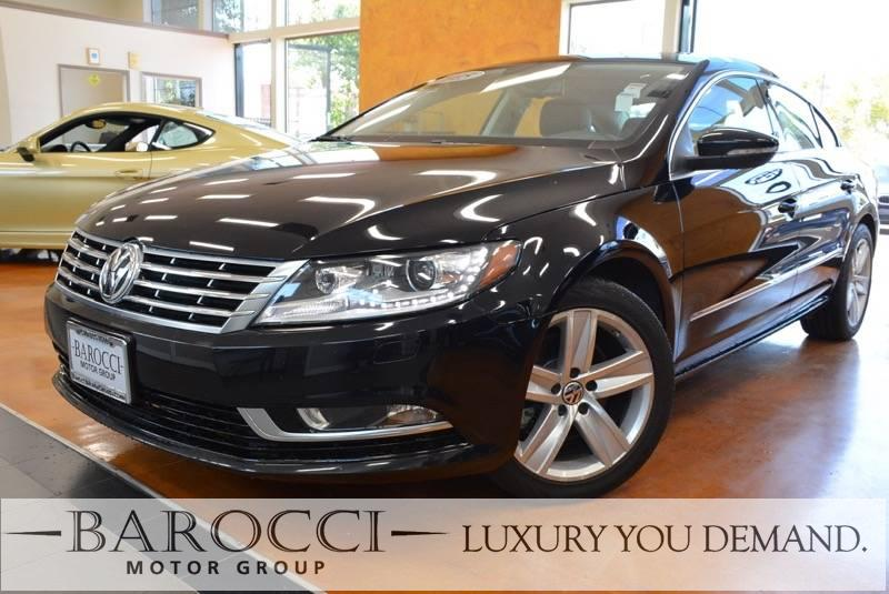 2015 Volkswagen CC Sport PZEV 4dr Sedan 6A 6 Speed Auto Black Luxury You Demand ABS Air Condit