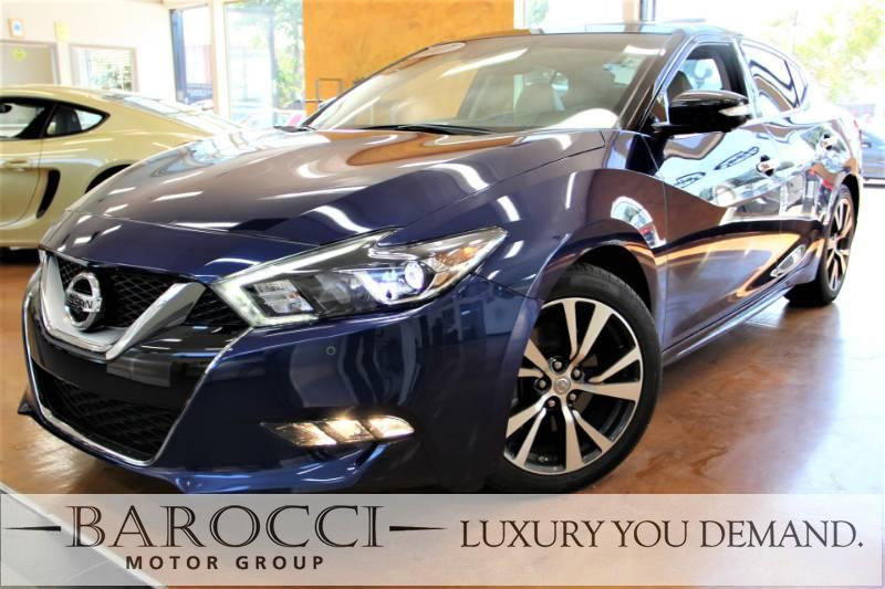 2017 Nissan Maxima Platinum 4dr Sedan Automatic Blue Beige Now offering a striking one owner 20