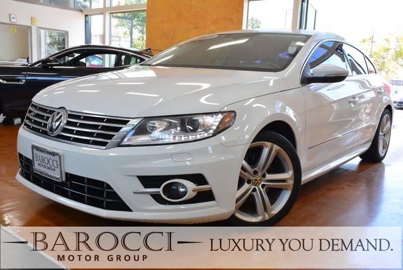 2015 Volkswagen CC R-Line PZEV 4dr Sedan 6A 6 Speed Auto White Now offering an outstanding one o