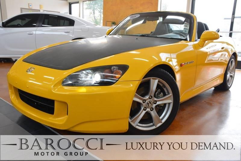 2008 Honda S2000 2dr Convertible 6 Speed Man Yellow Up for sale is a beautiful one owner 2008 H