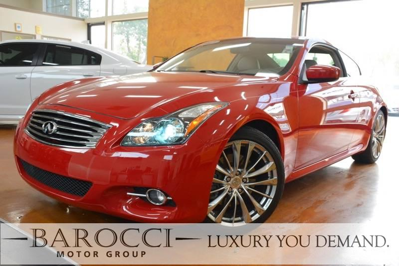 2012 INFINITI G37 Coupe 2dr Coupe 7 Speed Auto Red Luxury You Demand ABS 4-Wheel Air Condition
