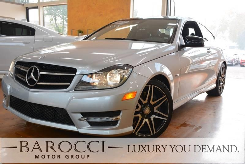 2013 MERCEDES C-Class C 250 2dr Coupe 7 Speed Auto Silver Black You are looking at a superb 201