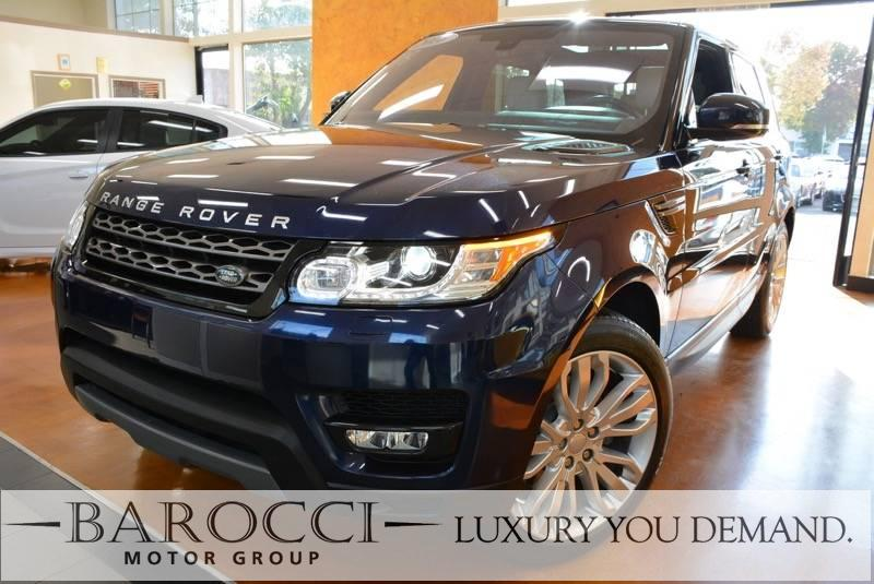 2016 Land Rover Range Rover Sport SE AWD  4dr SUV 8 Speed Auto Blue Now for sale is a wonderful