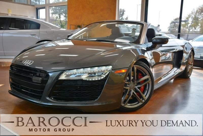 2015 Audi R8 42 quattro Spyder AWD  2dr Convert 7 Speed Auto Gray We are excited to offer an ou