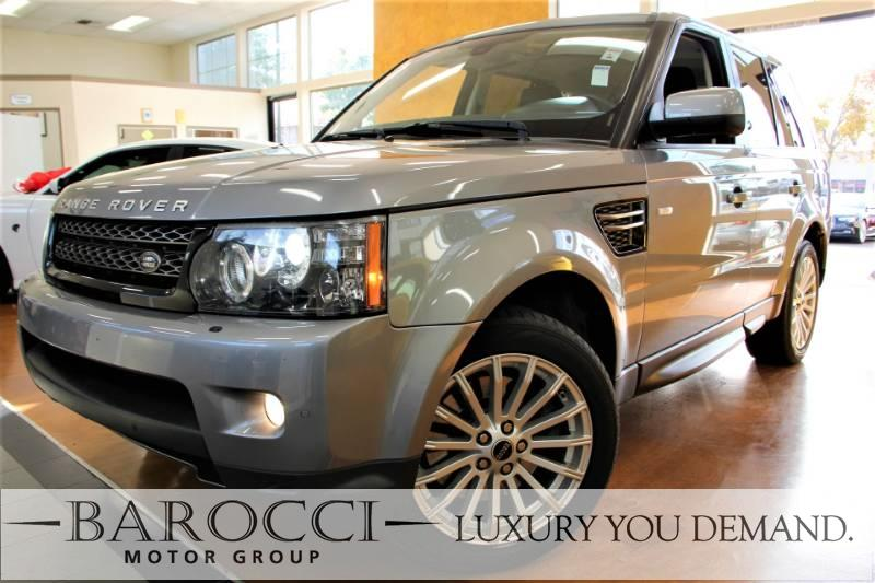 2012 Land Rover Range Rover Sport HSE 4x4  4dr SUV 6 Speed Auto Gray Black This is this frontli