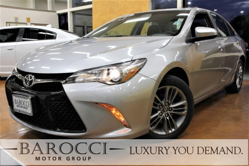 2016 Toyota Camry SE 4dr Sedan 6 Speed Auto Silver Black You are looking at
