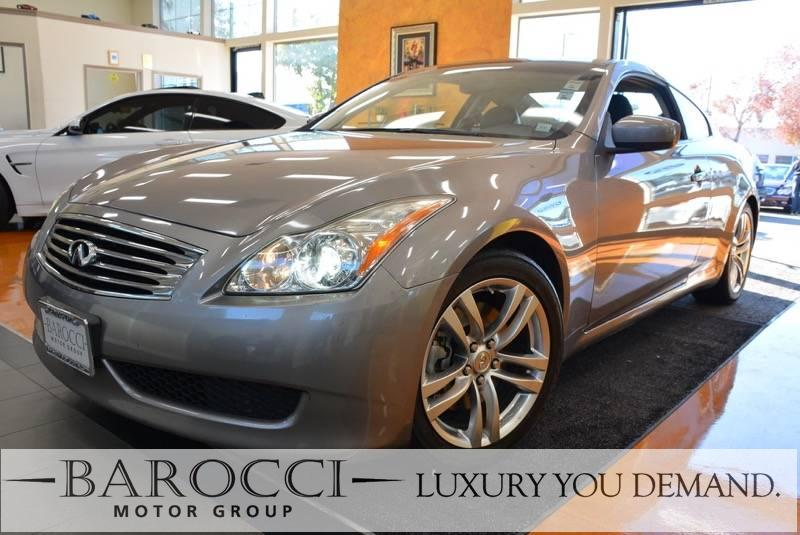 2008 INFINITI G37 Journey 2dr Coupe 5 Speed Auto Gray We are excited to offer an immaculate one