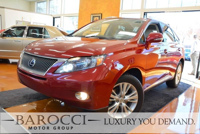 2010 Lexus RX 450h AWD 4dr SUV Automatic Red We are proud to offer a clean 2010 Lexus RX 450h AW