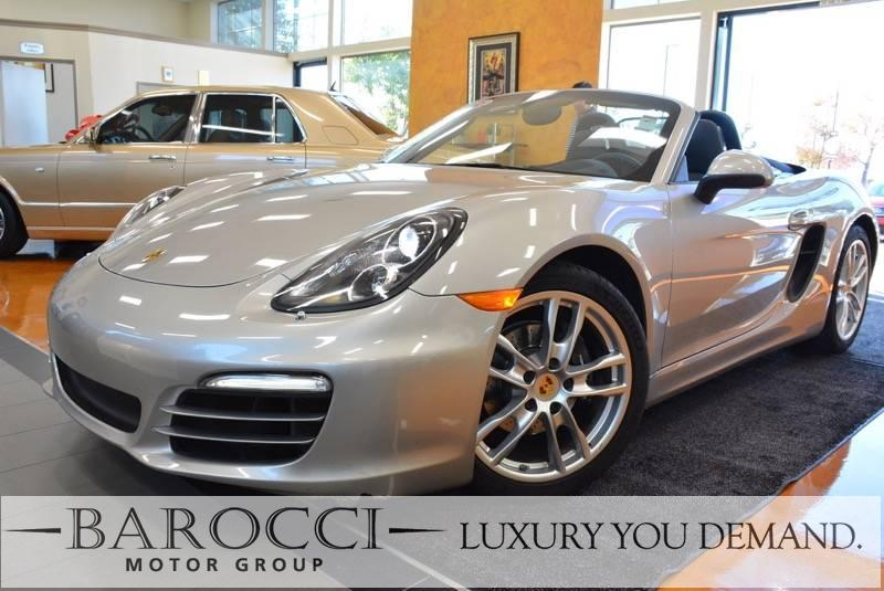 2013 Porsche Boxster 2dr Convertible 6 Speed Manual Silver We are proud to offer this frontline