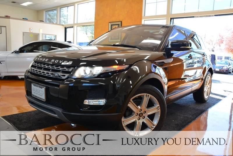 2013 Land Rover Range Rover Evoque Pure Plus AWD  4dr SUV 6 Speed Auto Black Luxury You Demand