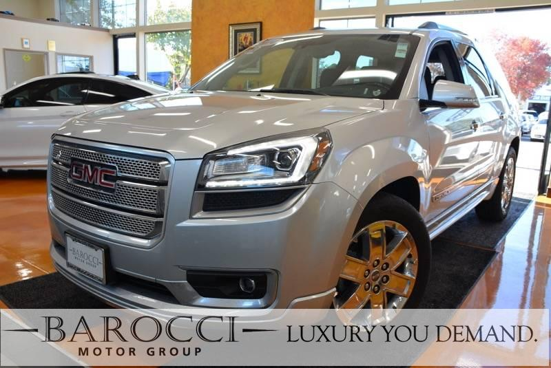 2014 GMC Acadia Denali AWD  4dr SUV 6 Speed Auto Silver Now for sale is an immaculate one owner